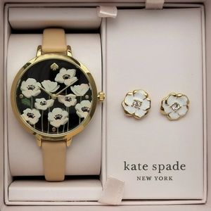 KATE SPADE WATCH & MATCHING ACCESSORY